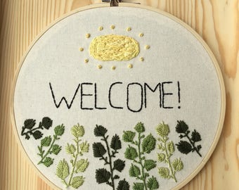 WELCOME! Hoop Art