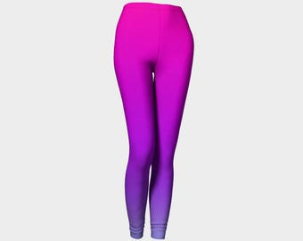 Pink and Purple Ombre Leggings/Mommy and Me