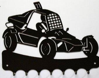 Hangs 26 cm pattern metal keys: autocross