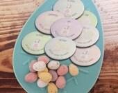 Easter badges, Easter egg...