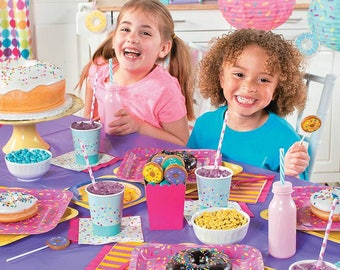Sprinkles Dinner Party  Plates / Donut Theme / Ice cream Theme party