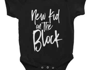 New Kid on the Block Onesie