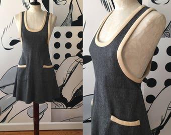 Shawn Jrs Mini Mod Gray Dress