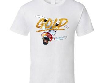 Chloe Kim Usa Snowboarding 2018 Gold Olympics Athelete Fan T Shirt