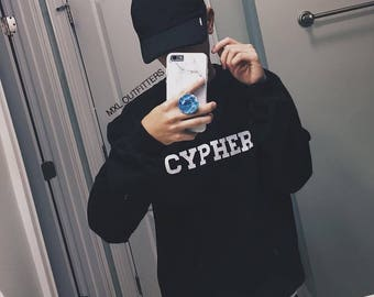 BTS Cypher Crewneck Sweatshirt