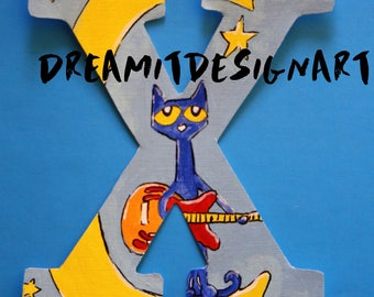 Pete the Cat Stay Groovy Alphabet Letter X
