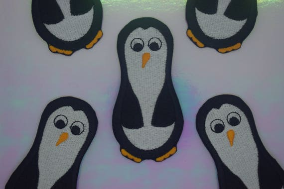 Penguin Iron on Patch