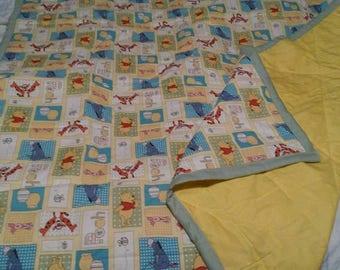 Handmade Winnie The Pooh Baby Quilt