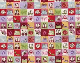 Tissu coton Patchwork Des affaires de filles