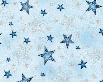 Winters Grandeur 5-Frost Stars-Robert Kaufman-BTY
