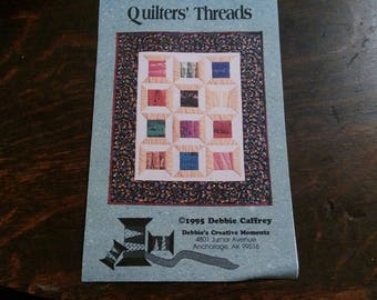 Quilters Thread  Fabric Art Sewing Pattern Fiber Art