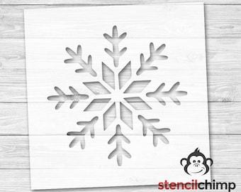 DIY Art Stencil - Snow Flake Stencil