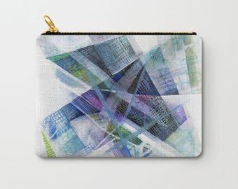 Art Zipper Pouch, Color Pencil Bag, Printed Wallet, Zipper Wallet For School, Canvas Pouch, Cotton Case, Back To School Pencil Case
