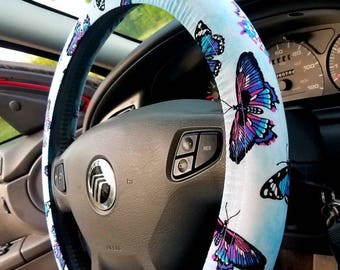 Butterfly Steering Wheel Cover
