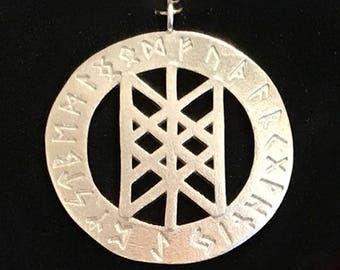 Rune pendant - Web of the Wyrd