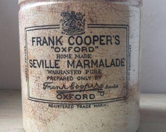 Large Dumpy Frank Coopers Oxford Marmalade Pot