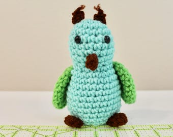 Owl, Amigurumi Stuffed Animal, Crochet Animal CLEARANCE item on SALE