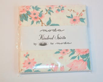 Charm Pack Kindred Spirits by Bunny Hill Designs of Moda destash quilter cotton