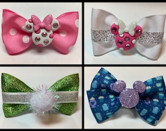 Magic Band Bow Bows Disney Passholer Mickey Minnie Tinkerbell Party Gift Coffee Hot Chocolate