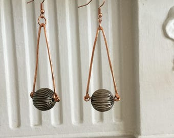 Dystiopian Trapeze Earrings