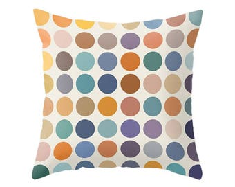 Geometric pillow Mid century pillow nordic pillow geometric cushion geometric throw pillow modern pillow modern cushion dots pillow