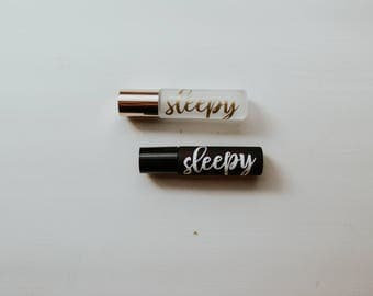 SLEEPY 10mL Essential Oil Roller Bottle