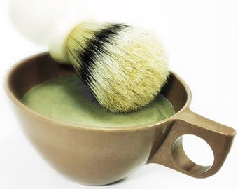Shave Soap, Shave Cup and Soap, Shave Cup, Traditional Shave Soap, Shave Soap, Wet Shave Soap, Men's Shaving, Wet Shave, Vintage Shave Cup