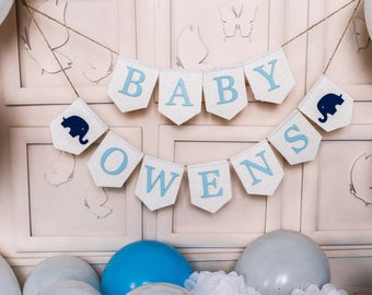 baby boy banner, Baby Banner, baby shower banner, baby shower bunting, oh baby banner, Shower Decor, baby shower decorations, baby shower