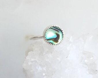 Abalone stacking ring