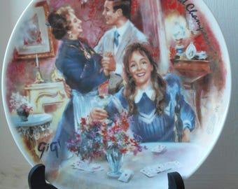 stunning vintage Limoges porcelain decorative collectors plate