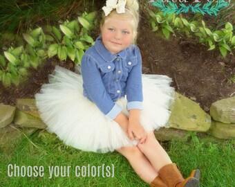 Tutu Skirt, Tutu, Birthday Tutu, 1st Birthday Tutu, Baby tutu, Infant tutu, newborn tutu, flower girl tutu, girl tutu skirt