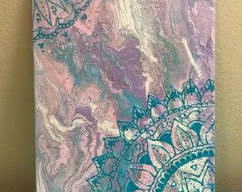 REFLECTIVE -Mandala Painting