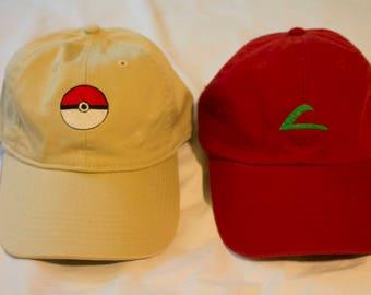 Pokemon Starter Pack Caps