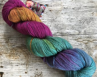 What Do I Know - UK Hand Dyed Yarn