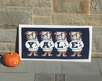 Yale Bulldogs Etsy