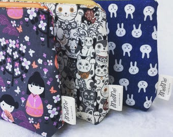 Multi functional fabric pouch