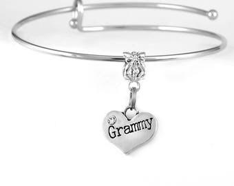 Grammy Bracelet Grammy Jewelry Grammy Charm Bracelet Grandmother Bracelet Grandmother jewelry Grandmother charm bracelet