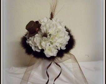 Bouquet for bride or bridesmaid theme cabaret