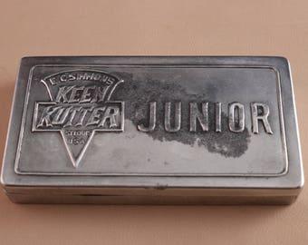 Kenn Kutter Junior Razor hone in its original tin box