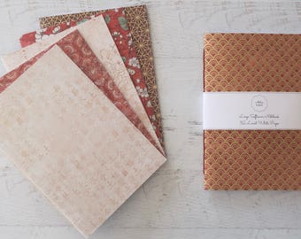 East Softcover Notebook Travel Journal Stationery Hand Bound 32 Lined White Pages *** Sold Individually ***