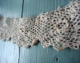 Antique Irish Lace Piece (Ref:  A-2683 Box 1)