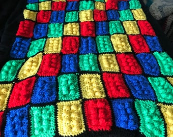 Child's Hand Crochet blanket