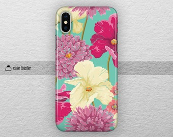 Floral iphone x case tough iphone 7 case iphone 8 case iphone 5 case iphone 6 case iphone 8 plus case iphone 7 case floral iphone 8 case