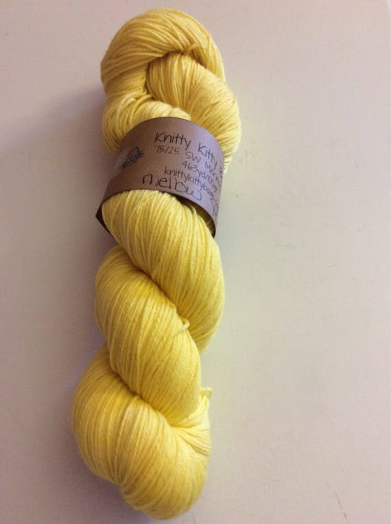 Naturally Dyed Fingering Yarn