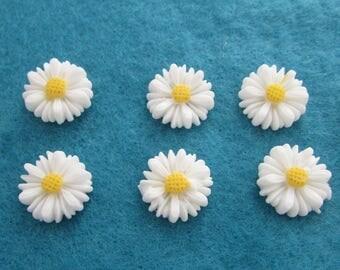 Daisy Flower Flatbacks