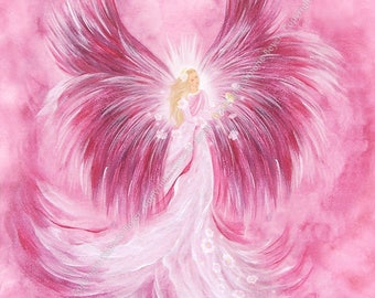 Angel Ariel, Angel art, Angel - photo printing - 24x30cm, art print