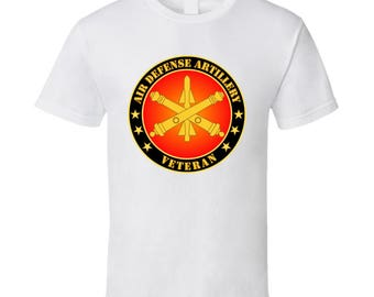 Army - Air Defense Artillery Veteran - T-shirt