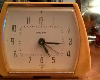 Made in USSR vintage clock
