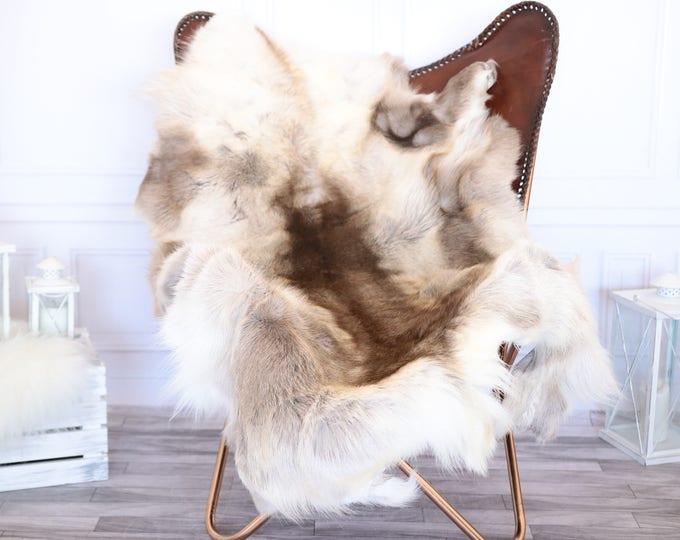 Reindeer Hide | Reindeer Rug | Reindeer Skin | Throw XL EXTTRA LARGE  - Scandinavian Style #1RE13