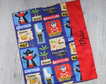Christmas, birthday, canteen * napkin, canteen, alike, cotton, pirates, to order